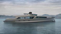 Live from Qatar: Esenyacht present 50m superyacht design - New Designs - SuperyachtTimes.com