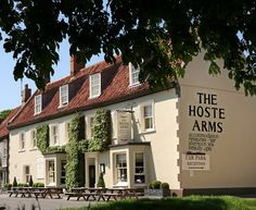 Hoste Arms, Burnham Market - ace place to stay for long beack walks and good food and wine. And they take dogs too