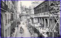 1903 lors de la construction du nouveau marché de Feltre à Nantes