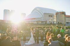 Almost like having the entire Toronto witness your wedding ? Brewery Wedding, Portrait Photographers, Love Story, Boudoir, Real Weddings, Toronto, Fair Grounds, Wedding Inspiration, Canada