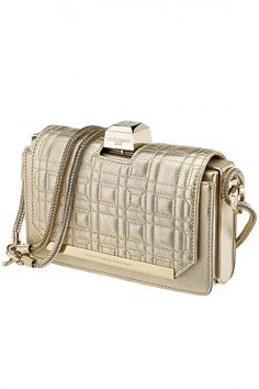 Vendôme Chaine Quilted Shoulder Clutch by Azzaro. Gifts Section: http://www.precouture.com/en/7039-gifts