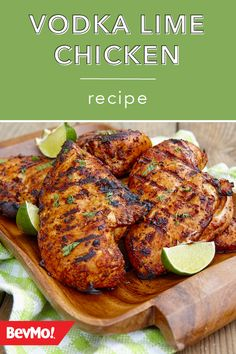 Summer is made for grilling and refreshing cocktails. And, when you whip up this recipe for Vodka Lime Chicken from BevMo! it's the best of both worlds—aka a match made in summertime perfection!