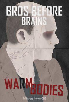 Bros before brains man All Movies, Movie Songs, Series Movies, Great Movies, Awesome Movies, Love Movie, Movie Tv, Warm Bodies Movie, Zombie Apocolypse