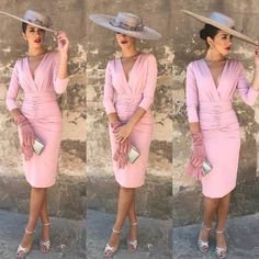Look Fashion, Fashion Outfits, Fashion Design, Classy Outfits, Cool Outfits, Baby Shower Outfit For Guest, Tea Party Outfits, Race Wear, The Dress