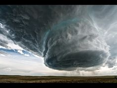 Whoa! Watch A Spectacular Supercell Take Form In Wyoming on Sunday. (5-18-14) It is absolutely spectacular — the stuff of science-fiction movies. Time lapse video.