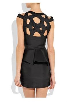 Little Black Dress by Rachel Gilbert (back). If only it were longer!