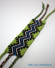 A Touch of Aztec friendship bracelet. €15.50, via Etsy.