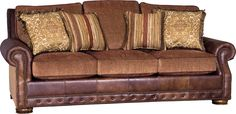leather and fabric sofa - Google Search