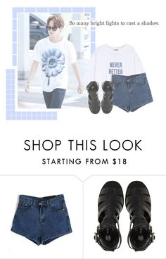 """""""Park Jimin"""" by girlmeetsbts ❤ liked on Polyvore featuring River Island, kpop, bts, jimin and parkjimin"""