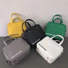 Balenciaga mini tote handbag original leather version