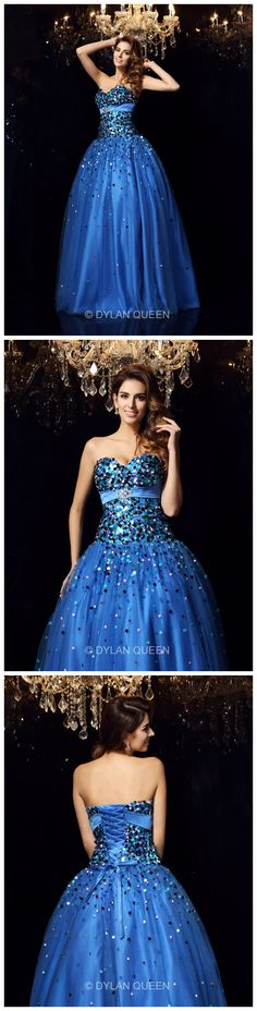 @dylanqueen ball gowm prom dresses
