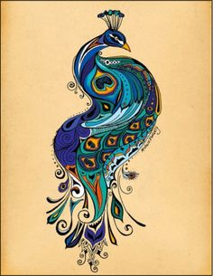 zentangle peacock feather - Google Search