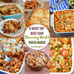 Best Ever Slimming World Pasta Bakes that you just must try!! If you love Pasta Bakes as much as me, then these are just the ones for you.