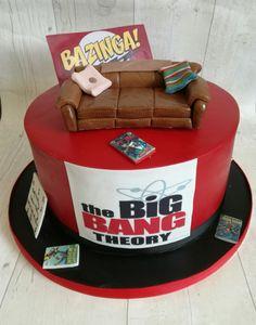 Big bang theory cake,sheldons spot                              …