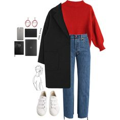 A&A by joycereina on Polyvore featuring Vetements, Veja, Incase, MANGO, Yves Saint Laurent, Native Union and Sloane Stationery