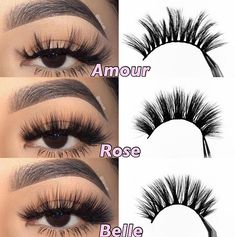 Best Drugstore Lashes, Best Lashes, Fake Lashes, 3d Mink Lashes, Eyeshadow Makeup, Makeup Cosmetics, Light Makeup Looks, Perfect Eyelashes, Eyelash Kit
