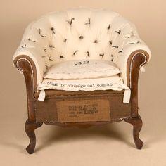 D�shabill� armchairs 18