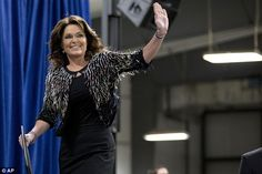 Sarah Palin wore $700 decorative bolero to endorse Trump #dailymail
