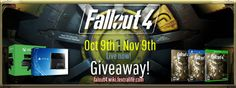 Win a PS4 or Xbox One or a copy of Fallout 4