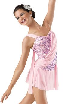 Lyrical solo costume for the Spring!