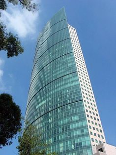 Torre Mayor, Ciudad de México. Ejemplo de edificio inteligente.