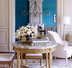 Blue room by Suzanne Kasler