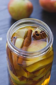 Recipe: Apple & Cinnamon Infused Bourbon — Gift Recipes from The Kitchn | The Kitchn
