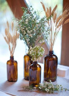 8. Wheat. Rustic brides will love incorporating this organic element into their special day. Fall Wedding Ideas