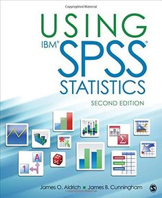 Using IBM® SPSS® Statistics: An Interactive Hands-On Approach by James O. Aldrich. A concise, practical guide that can be used in conjunction with another text or as a self-instructional resource. With the assistance of ample screenshots, bullet points, and callouts, readers master SPSS by inputting and analyzing their own data, rather than simply opening existing databases. http://infohawk.uiowa.edu/F/?func=find-b&find_code=SYS&local_base=UIOWA&request=008045428