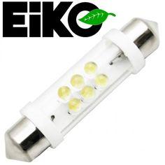 Eiko LED-12-FESTOON-W | Festoon Light Bulb