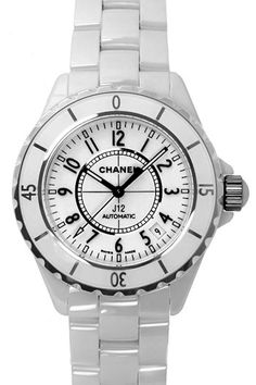 Chanel J12 White Ceramic Watch.  I've wanted this watch for as long as I can remember.  There is no substitute.