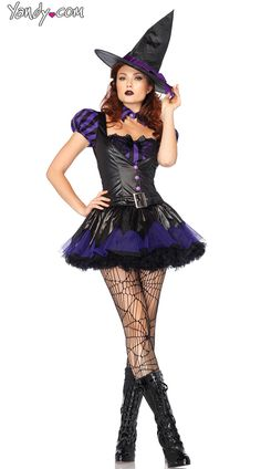 Witches /& Wizards Enchanta the Witch Adult Costume