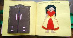 Princess dress up page - Wardrobe