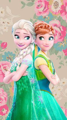 ❤ Anna and Elsa