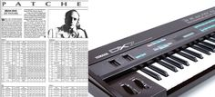 Get That Brian Eno 80s Sound With His Yamaha DX7 Synth Patches