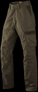 Ultimate Trousers: Heavy Canvas with Suede Trim Detail (5 year Guarantee) by Harkila