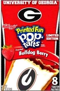 Georgia Bulldogs Pop Tarts