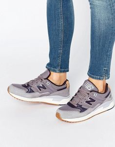Buy it now. New Balance 530 Grey Trainers With Gum Sole - Grey. Trainers by New Balance, Breathable mesh upper, Suede and leather overlays, Lace-up fastening, Padded tongue and cuff, Logo applique, Contrast chunky sole, Flex-groove tread, Wipe with a damp cloth, 50% Other Materials, 50% Real Leather Upper. ABOUT NEW BALANCE Boston based brand, New Balance began life in the 1900s as an arch support company. Since developed into a range of custom-based trainers with high performance…