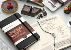 Moleskine chocolate-journal. <3