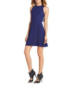 BCBGeneration Flounce Overlay Dress | Bloomingdale's
