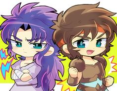 Saga and Aioros