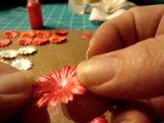 painting flowers with liquid pearls