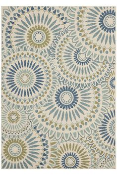 this outdoor area rug would look great on the screened in porch with our green patio furniture from home decorators - Home Decorators Outdoor Rugs