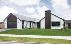 Stunning Gable Roof Design in Corrugated Coloursteel Longrun