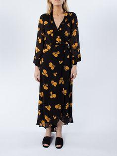 APLACE Fairfax Georgette Dress - Ganni