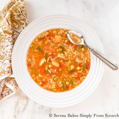 Alphabet Vegetable Soup is a favorite of young and old a like. A fun soup to help teach the kids to spell, low calorie, budget friendly, healthy and easy to make. Recipe includes step by step instructions.