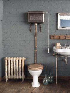 Bespoke cisterns & luxury toilet and bathroom designs Spa Bathroom Themes, Toilet And Bathroom Design, Small Toilet Room, Bathroom Design Luxury, Bathroom Designs, Ikea Bathroom, Bathroom Ideas, Brass Bathroom Fixtures, Bathroom Vanity Lighting