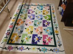 shadow daisy quilt pattern | Thread: Terry's Happy Daisy Quilt ... : shadowed daisy quilt pattern free - Adamdwight.com
