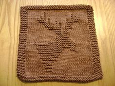 Ravelry: Knitted Moose Cloth pattern by Rhonda White
