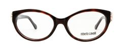 Roberto Cavalli RC0769 frames are sophisticated, chic, and stylish. The Dark Havana coloring and gold accents on the armature add a vintage feel to these designer frames. Perfect for a day in the office, or a night out on the town. Use Code: NEWG20 for $20 off + free shipping! #glasses